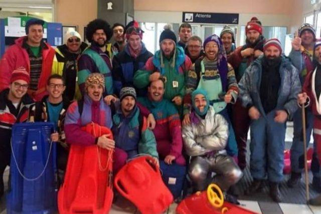 """Les """"bronzés"""" du RCAV font du ski"""